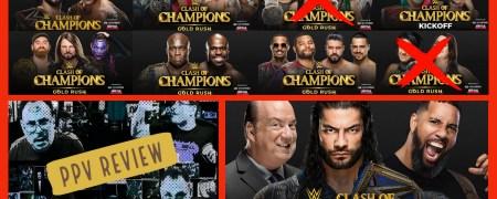 WWE CLASH OF CHAMPIONS (2020) PPV RECAP