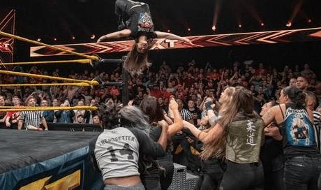 NXT女子王座を巡るカイリ・セイン&紫雷イオ