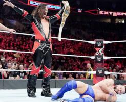 中邑真輔WWEインターコンチネンタル王座獲得