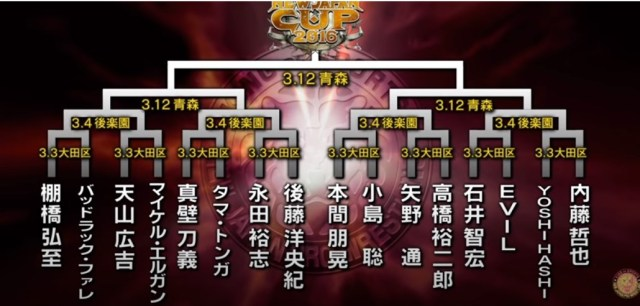 NEW JAPAN CUP 2016