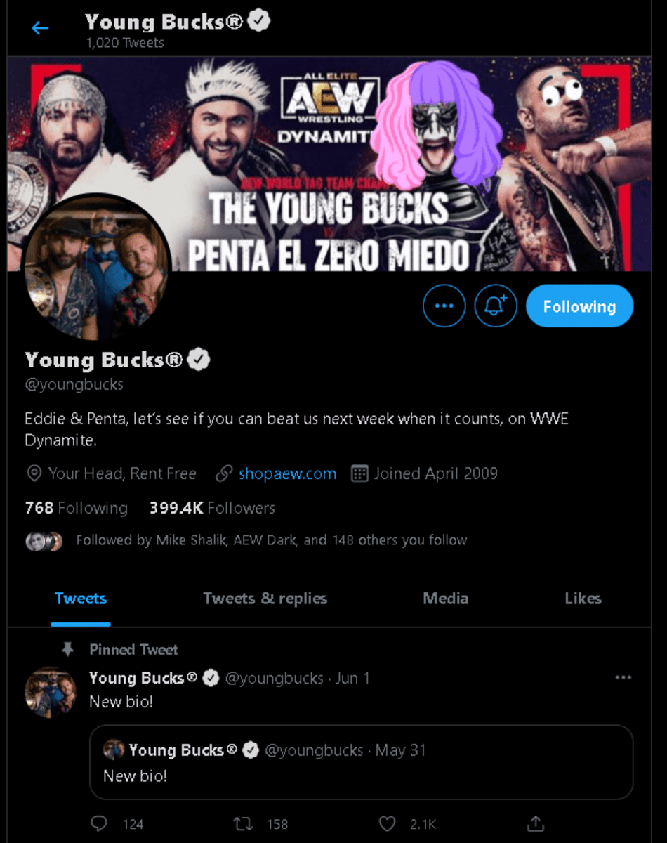 """The Young Bucks reference Jim Ross' """"WWE Dynamite"""" mistake"""