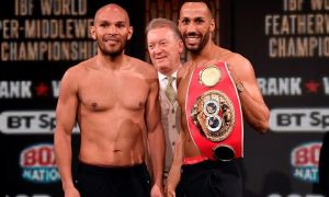 Caleb Truax vs. James DeGale