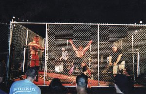 Raven being crucified by Punk