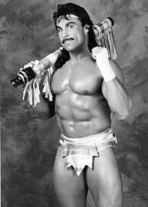 Johnny B. Badd, a star on the rise in WCW.