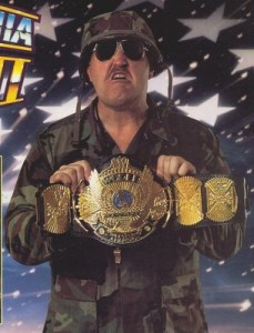 Very few people liked Sgt. Slaughter.