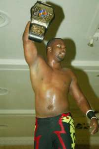 Slyck Wagner Brown, 2CW Heavyweight Champion in 2008.
