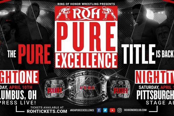 Ring of Honor Announce The Return of the ROH Pure Championship