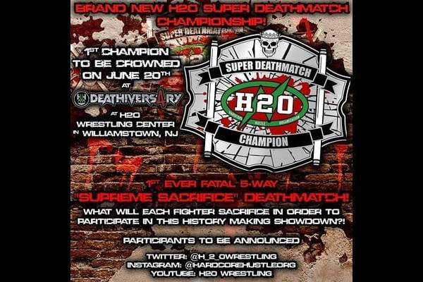 H2O Wrestling Create Super Deathmatch Division