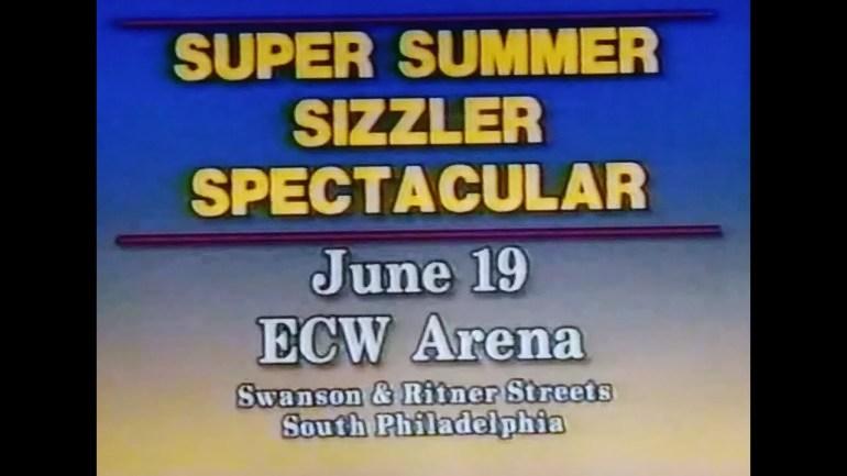 """Affiche du PPV """" ECW Summer Sizzler """" '93"""