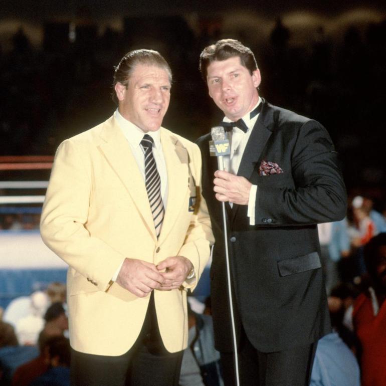 Bruno Sammartino & Vince McMahon