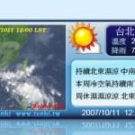 Yahoo!Widget 天氣預報與新聞