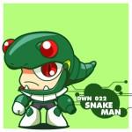 DWN022 SNAKE MAN