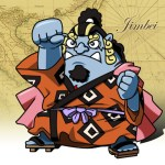 One Piece -Jimbei flash小時鐘