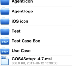 cosa on iOS