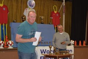 Trophy Day 2015 U15 Lions Coach Neil Mumby