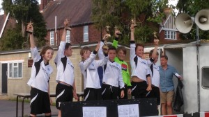 Victorious U10 Dinamo, Winners of the Senior Cup, Mayford Athletic FC Tournament, 21st June 2015