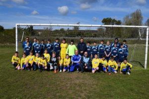 U13s (Blue Kit) and U12 Warriors (Yellow Kit) - Christ's College