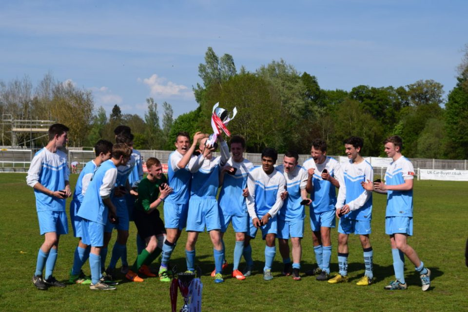 Congratulations to SPL U17 Cup Winners 2016 - Fleet Town Colts Youth