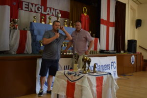 Richard (U16 Tigers) and Mark (U16 Lions) Angus