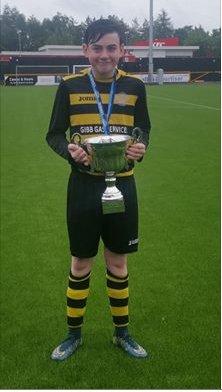 RIP Kieran McDade, Dunbeth FC