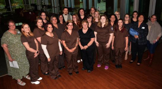 SCC nurse aide program holds pinning ceremony