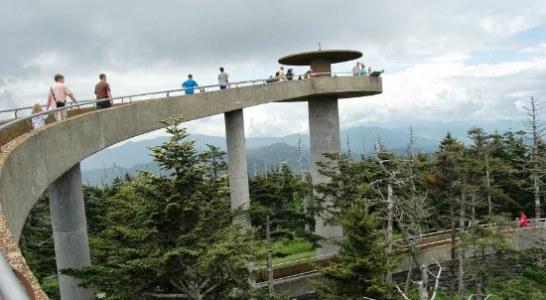 Clingmans Dome Tower Rehabilitation Project Begins