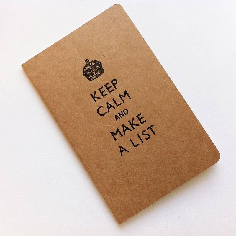 keep calm and make a list the wr ite blog