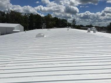 Renovated metal roof.  No leaks!