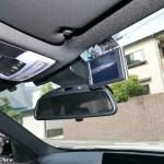 (本日の作業)BMW純正ドライブレコーダーの仮止め