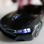 (サンプル品入荷)ベンツ BMW ワイヤレスマウス(光ります)