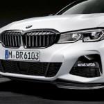 (プレオーダー)BMW G20ニュー3シリーズM PERFORMANCEブラックキドニーグリル