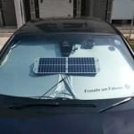 BMWソーラーバッテリーメンテナンスシステムを使ってみました