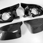 (値上がりしました)BMW Xシリーズ用Mカーボンミラーセット