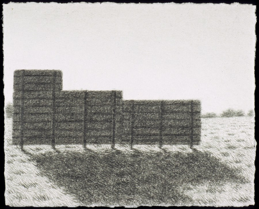 Scott Espeseth | Wall | graphite on paper