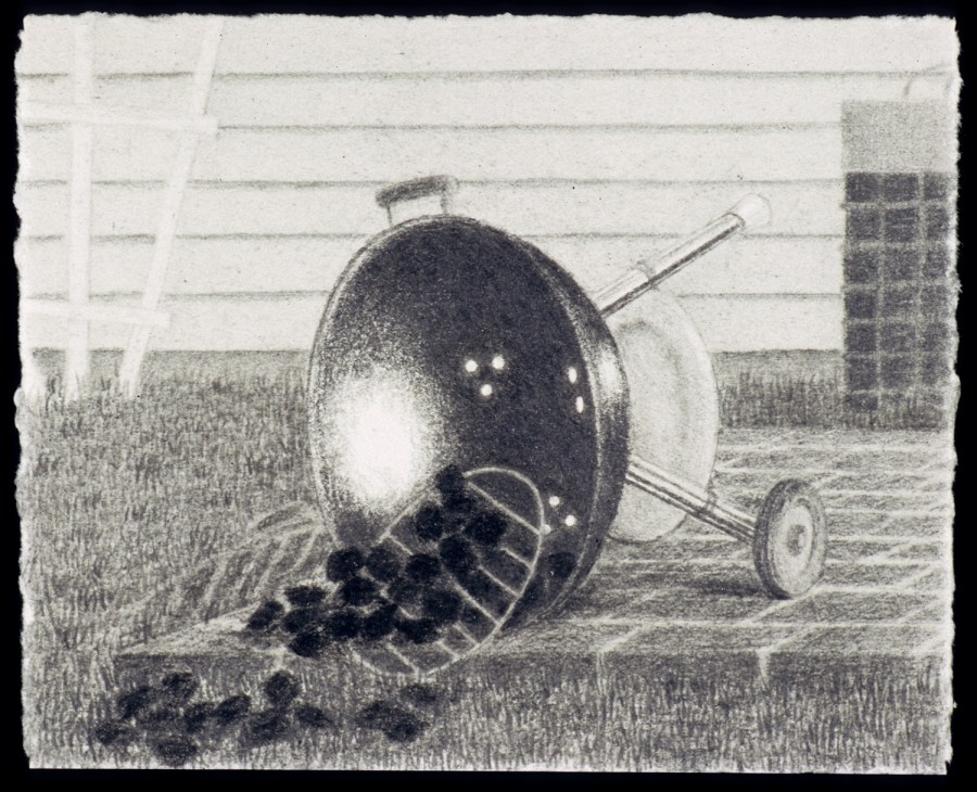Scott Espeseth | Grill | graphite on paper
