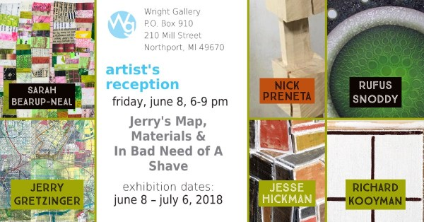 Wright Gallery Summer Opening 2018 Artists Reception June 8