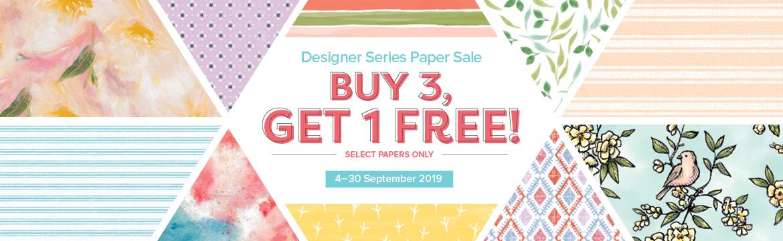 Designer Series Paper Header