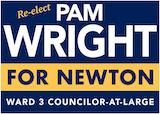 Pam Wright Ward 3 City Councilor at Large