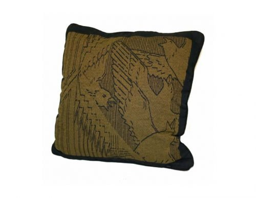 Frank Lloyd Wright Pillow Rookery Birds