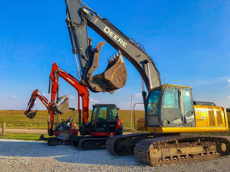 Excavating specialists in Nebraska.