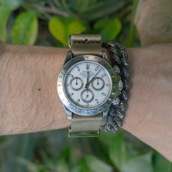 wrist-hardware-Khaki-strap-white-sweater-sq