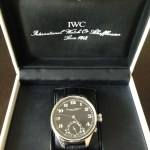 IWC cal 52 model converted from a pocket watch