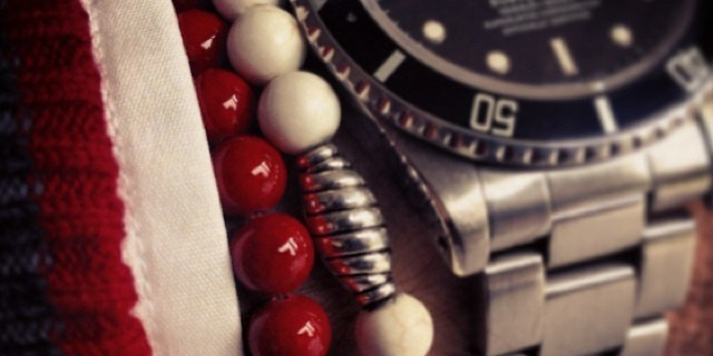 Rolex Submariner with bracelets from Dutch Design Beads