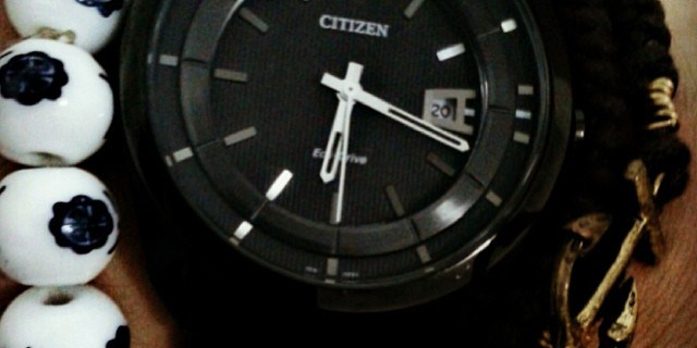 Citizen AW1018-55e – My first real watch