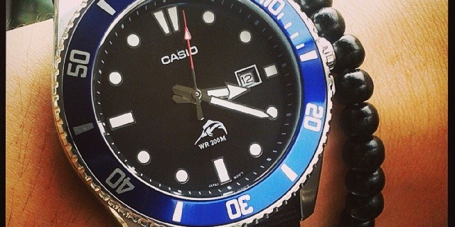 This is my Casio Diver MDV-106