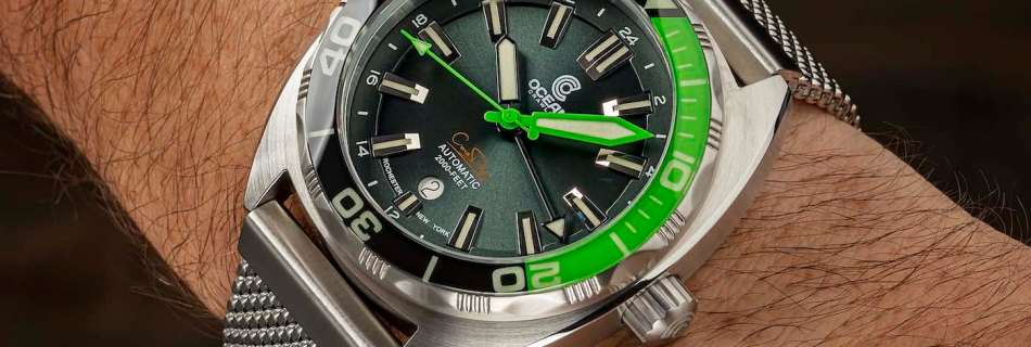 The Ocean Crawler Automatic Core Diver GMT