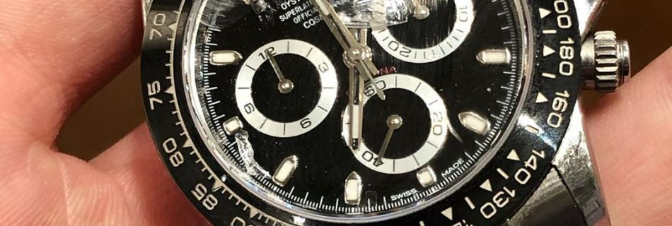 Broken Rolex Daytona by @Henn_Adam_Watches
