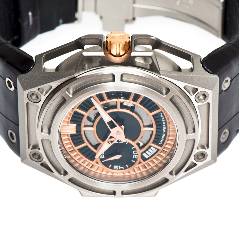 LINDE_WERDELIN_SpidoLite_II_Titanium_Gold_USlimited_crown