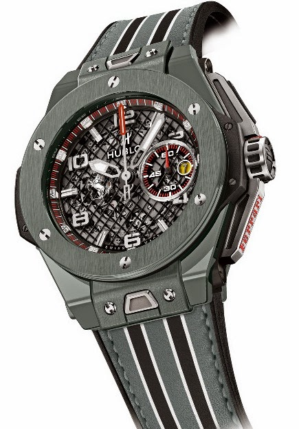 HUBLOT - Big Bang Ferrari Black Ceramic & Big Bang Ferrari Grey Ceramic 1