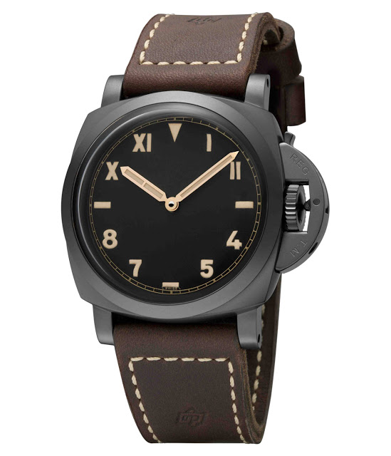 Swiss-made Panerai Luminor 1950 3 Days Titanio DLC replica